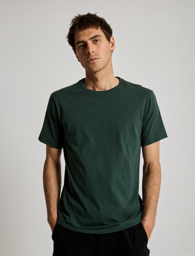 Mr Simple Reginald Tee / Bottle Green