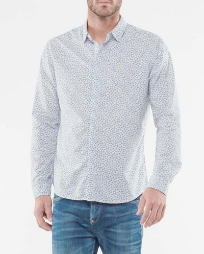 Le Temps des Cerises Peter Longsleeve Shirt in White