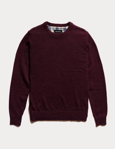 Mr Simple - Standard Knit / Wine | Buster McGee Daylesford