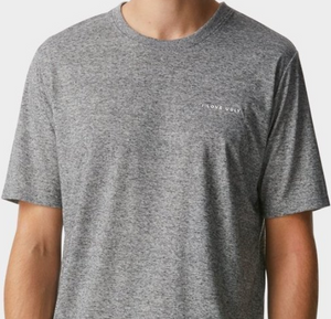 iLoveUgly Easy Logo Tee in Grey Speckle