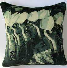Load image into Gallery viewer, Vatican Cotton Velvet Cushion by Peter Daavid