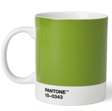 Load image into Gallery viewer, Pantone Bone China Mug in Green