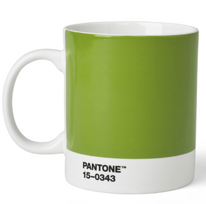 Pantone Bone China Mug in Green