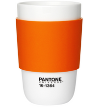 Load image into Gallery viewer, Pantone Cup Classic Ceramic Cup in Orange