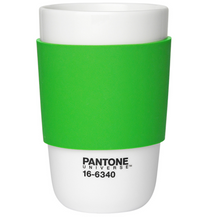 Load image into Gallery viewer, Pantone Cup Classic Ceramic Cup in Green