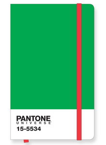Pantone Icon Notebook Large in Fern Green