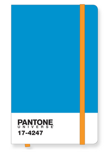 Pantone Icon Notebook Large in Diva Blue