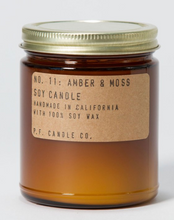 Load image into Gallery viewer,  P F Candle Co Amber & Moss Candles