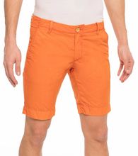 Load image into Gallery viewer, AT.P.CO Plain Chino Shorts in Navy
