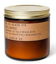 Load image into Gallery viewer,  P F Candle Co Black Fig Candles