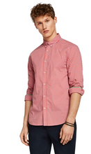 Load image into Gallery viewer, Scotch & Soda Stretch Gingham Shirt Regular Fit Combo D 0220
