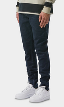 Load image into Gallery viewer, iLoveUgly Zespy Pant Mid Rise in Navy Side
