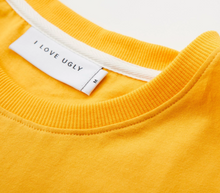 Load image into Gallery viewer, iLoveUgly QGFTIM Tee in Yolk Collar