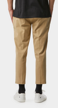 Load image into Gallery viewer, iLoveUgly Slim Kobe Pant in Tan Rear