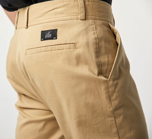 iLoveUgly Slim Kobe Pant in Tan Pocket Detail