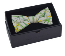 Load image into Gallery viewer, Peggy & Finn Wattle Bow Tie