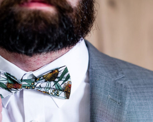 Peggy & Finn Banksia Bow Tie in Grey