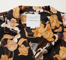 Load image into Gallery viewer, iLoveUgly Cuban Collar Short Sleeve Shirt Datura Neck