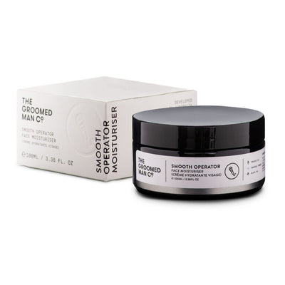 The Groomed Man Co. Smooth Operator Face Moisturiser 100ml | Buster McGee Daylesford