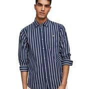 Load image into Gallery viewer, Scotch & Soda Classic Breton Stripe Shirt Regular Fit Combo C Front Close