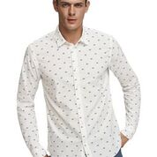 Scotch & Soda Classic All-Over Printed Shirt Regular  Fit Combo B Casual