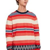 Scotch & Soda Multicoloured Structured Pullover Combo B 0218