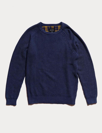 Mr Simple - Chunky Knit / Indigo | Buster McGee Daylesford