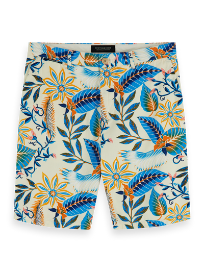 Scotch & Soda Printed Chino Shorts Combo D
