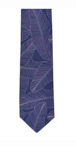 Peggy & Finn Banana Palm Cotton Neck Tie