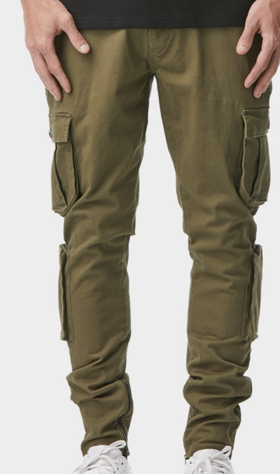 iLoveUgly McCoy Militia Pant in Military Front