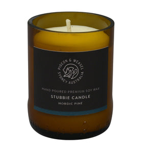 Nordic Pine Stubbie Candle