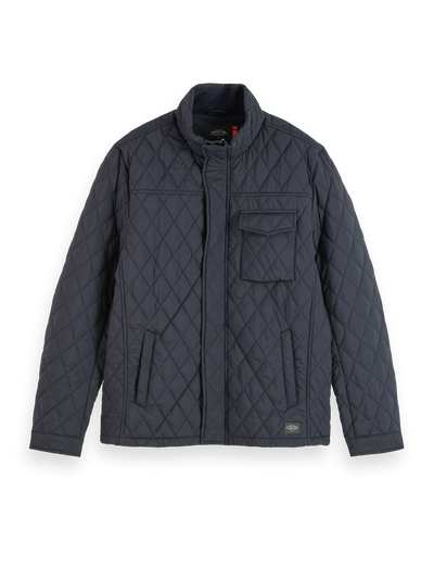 Scotch & Soda - Classic Short Quilted Jacket in Night | Buster McGee Daylesford