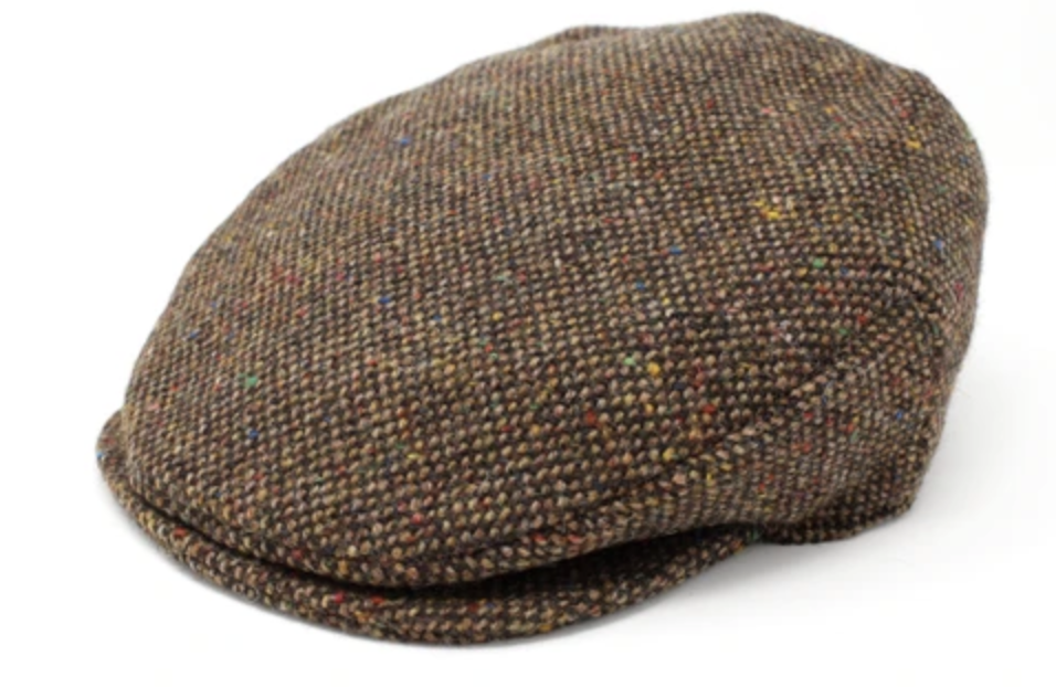 Hanna Plain Tweed Vintage Cap