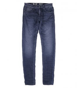 Slim Leg Jogg Jean by Le Temps des Cerises in Blue Black