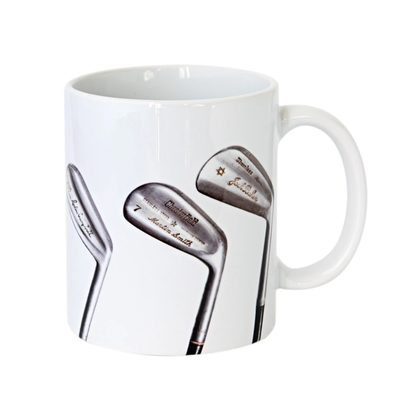 Sporting Nation - Vintage Signature Golf Clubs Coffee Mug