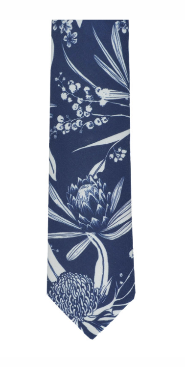 Peggy & Finn Natives Cotton Neck Tie