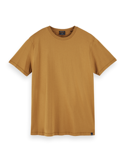 Scotch & Soda Organic Cotton Tee in Tobacco | Buster McGee Daylesford