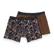 Scotch & Soda Classic Boxer Shorts with Print Combo D