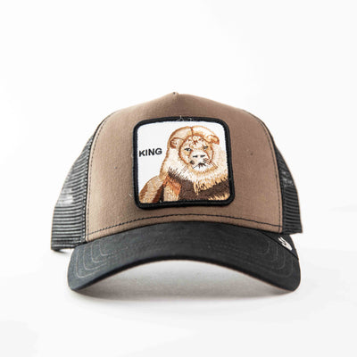 Goorin Bros - King Trucker Cap in Brown | Buster McGee Daylesford