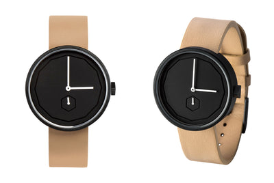 Classic Neu Watch in Black by AARK Collective Black face