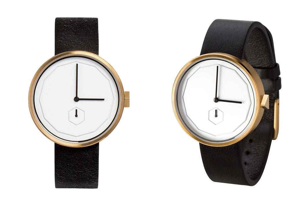 Classic Neu Watch in Gold by AARK Collective in Gold