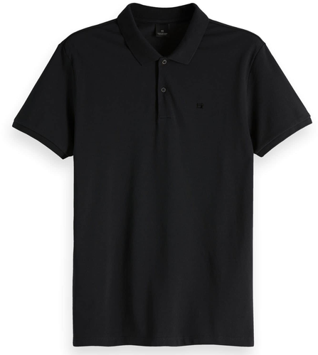 Scotch & Soda NOS Classic Pique Polo in Night