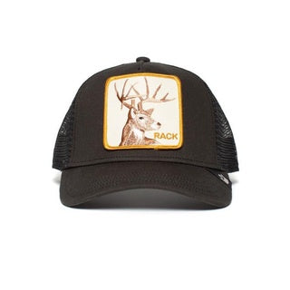 Goorin Bros - Rack It Trucker Cap in Black | Buster McGee Daylesford