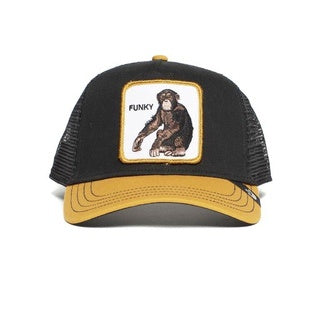Goorin Bros - Banana Shake Trucker Cap in Black/Yellow | Buster McGee Daylesford