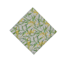 Load image into Gallery viewer, Peggy & Finn Wattle Pocket Square