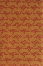 Load image into Gallery viewer, Hanky Fever Men's Kangaroo Handkerchief in Desert Orange