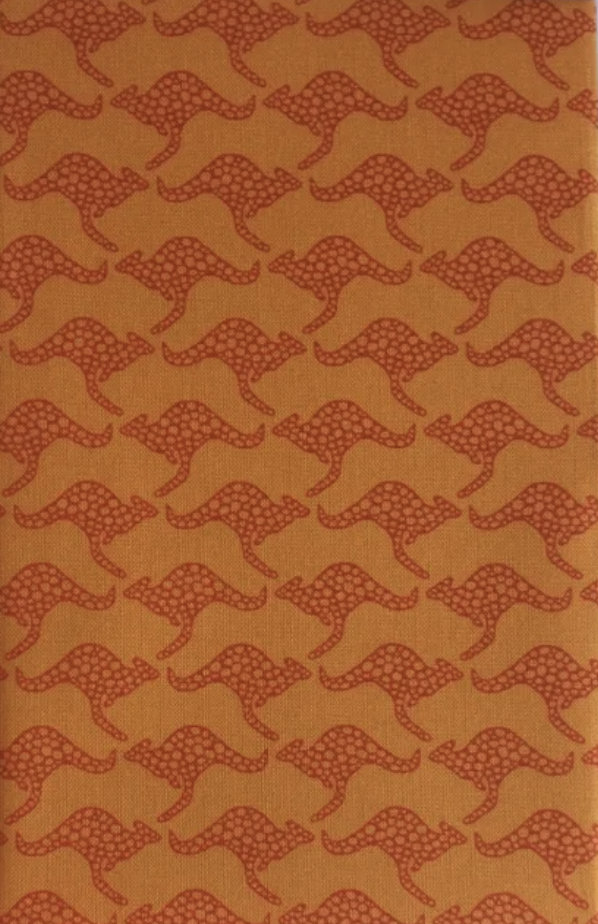 Hanky Fever Men's Kangaroo Handkerchief in Desert Orange
