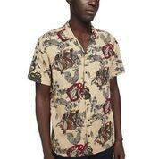 Scotch & Soda Chic All-Over Printed Shortsleeve Shirt Regular Fit Front