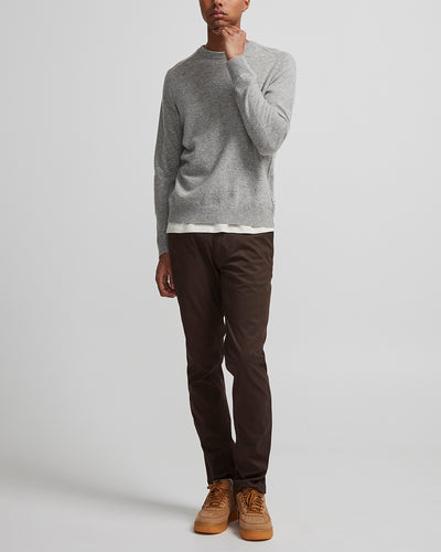 NN07 / Edward 6333 Lambswool Sweater / Light Grey