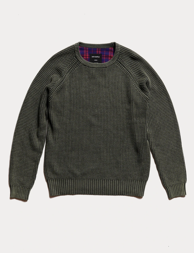 Mr Simple - Chunky Knit / Fatigue | Buster McGee Daylesford